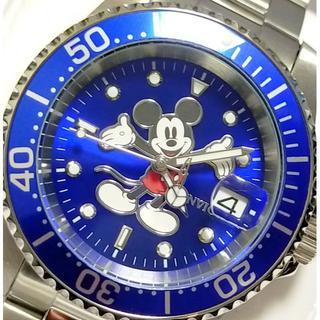 インビクタ(INVICTA)の定価8万円 INVICTA インビクタ ミッキー ダイバーズ ブルー×シルバー(腕時計(アナログ))