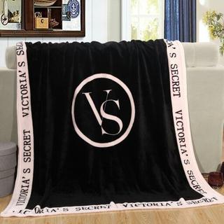 ヴィクトリアズシークレット(Victoria's Secret)の新品Victoria's Secret フワモコ大判ブランケット/ブラック(その他)