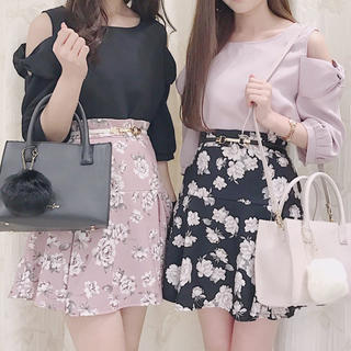 evelyn - evelyn♡大人気花柄スカート