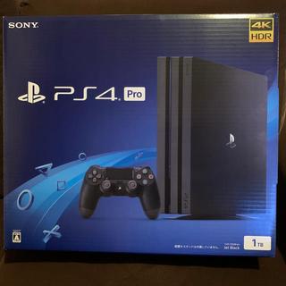 プレイステーション4(PlayStation4)のPS4Pro cuhー7200B B01(家庭用ゲーム機本体)
