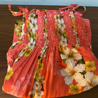 ハワイ アロハ ムームー チュニック(その他ドレス)