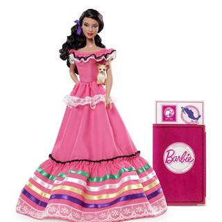 バービー(Barbie)のバービーbarbie♡ドール・オブ・ザ・ワールド メキシコ ピンクラベル(ぬいぐるみ/人形)