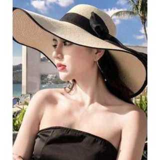 麦わら 帽子 ストロー ハット エレガント キャペリン 女優帽★06190007(麦わら帽子/ストローハット)