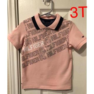 トミーヒルフィガー(TOMMY HILFIGER)のTommy Hilfiger 縦ロゴプリント ポロシャツ(Tシャツ/カットソー)