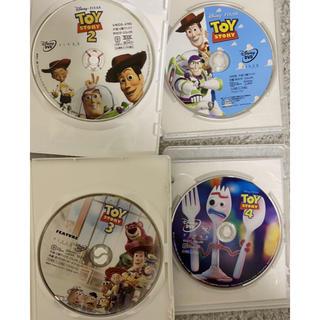 ディズニー(Disney)のトイストーリーDVD 1-2-3-4セット(外国映画)