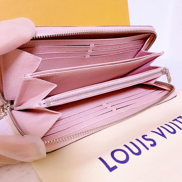 LOUIS VUITTON(ルイヴィトン)のLOUIS VUITTON ヴィトン エピ ジッピーウォレット 長財布 ピンク レディースのファッション小物(財布)の商品写真