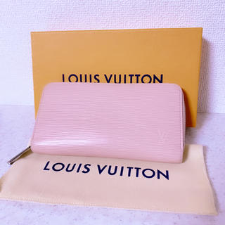 LOUIS VUITTON - LOUIS VUITTON ヴィトン エピ ジッピーウォレット 長財布 ピンク