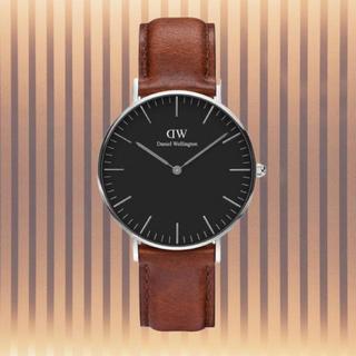 ダニエルウェリントン(Daniel Wellington)の安心保証付き【40㎜】ダニエルウエリントン 腕時計〈DW00100130〉(腕時計(アナログ))
