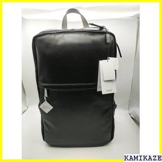 【送料無料】 バックパック 高級感ブラック イタリア製 皮革(バッグパック/リュック)