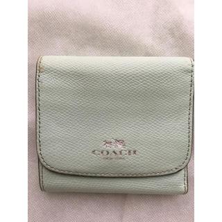コーチ(COACH)のCOACH  コンパクトWホック三つ折り財布(財布)