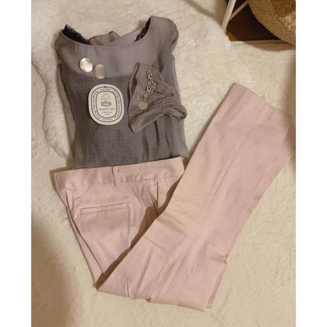 ZARA(ザラ)の売り切れです。ベビーピンク パンツ レディースのパンツ(クロップドパンツ)の商品写真