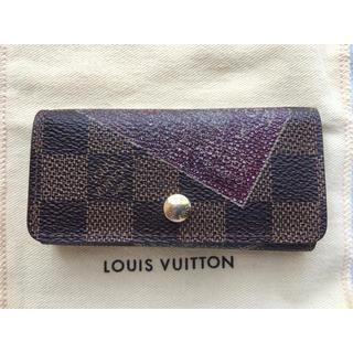 ルイヴィトン(LOUIS VUITTON)の逸品 LOUIS VUITTON  ダミエエベヌラベルコレクション CT4079(キーケース)