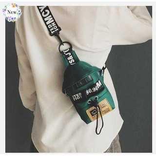 グリーン 小さめ ワンショルダー ボディバッ グレディース メンズ 兼用 旅行(ボディバッグ/ウエストポーチ)