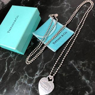 ティファニー(Tiffany & Co.)の❤決算セール❤ ティファニー ネックレス  アクセサリー レディース ハートタグ(ネックレス)