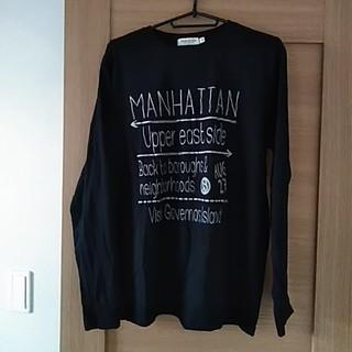 シマムラ(しまむら)のMANHATTANロンTシャツ(Tシャツ/カットソー(七分/長袖))