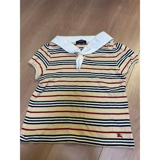 BURBERRY - 最終値下 美品 バーバリー ノバチェック ポロシャツ フォーマル