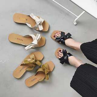 サンダル レディース ミュール 靴 ビーチサンダル スリッパ フラットシューズ(サンダル)