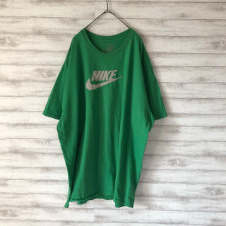 ナイキ(NIKE)のNIKE  ナイキ ビッグロゴ 立体ロゴ ライトグリーン ビッグサイズ(Tシャツ/カットソー(半袖/袖なし))