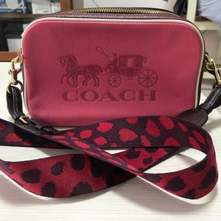 COACH - コーチ クロスボディ ピンク 限定色 値下げ