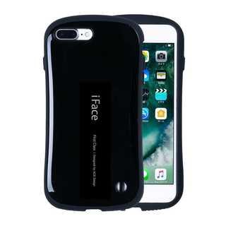 【C31】iFace iPhone7/8Plus (黒)スマートフォンケース(iPhoneケース)