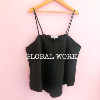 グローバルワーク(GLOBAL WORK)の美品 グローバルワーク キャミソール&インナーセット(セット/コーデ)
