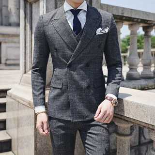 スーツセットアップ メンズ ビジネス 披露宴 スーツジャケット zb492(セットアップ)