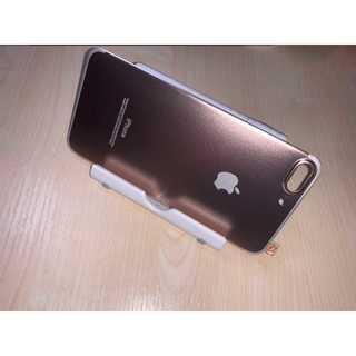 iPhone7Plus/8Plus ローズゴールド チタンフレーム 背面 Pow(モバイルケース/カバー)