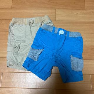 ベビーギャップ(babyGAP)の☆2枚セット☆GAP  ハーフパンツ 80cm(パンツ)