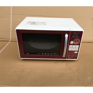 サンヨー(SANYO)のSANYO オーブンレンジ 16L 全国共通 ワインレッド EMO-C16D(電子レンジ)