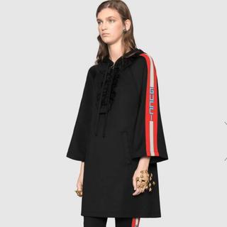 Gucci - グッチ フード付き ジャージー ドレス