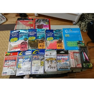 メバリングルアーセット ミミック 陸戦用ジグ(ルアー用品)
