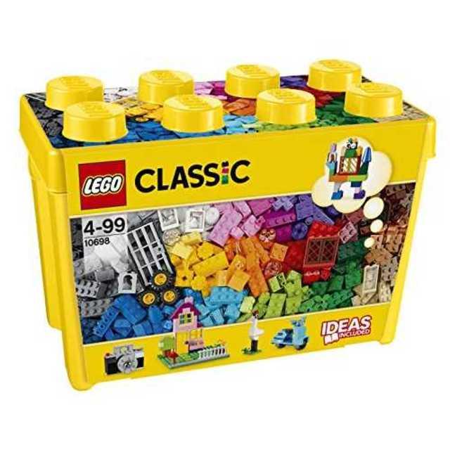 レゴ (LEGO) クラシック 黄色のアイデアボックス スペシャル 10698 キッズ/ベビー/マタニティのおもちゃ(積み木/ブロック)の商品写真
