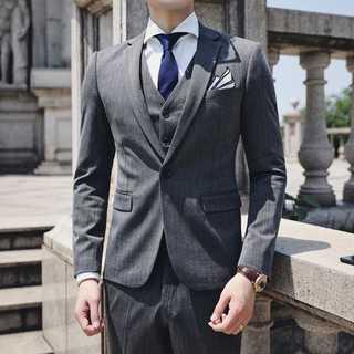 メンズスーツセットアップ 結婚式 ビジネス 社会人 zb496(セットアップ)