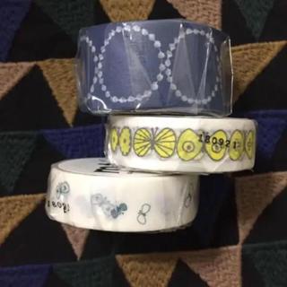 mina perhonen - ミナペルホネン マスキングテープ 3個