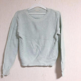 ジーユー(GU)のジーユー 春 カットソー サマーニット系(Tシャツ(長袖/七分))
