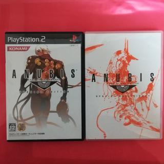 プレイステーション2(PlayStation2)のANUBIS ZONE OF THE ENDERS 限定版特典CD付(家庭用ゲームソフト)
