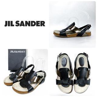 ジルサンダー(Jil Sander)の■定8.2万 JIL SANDER ジルサンダー サンダル 36.5 23.5(サンダル)