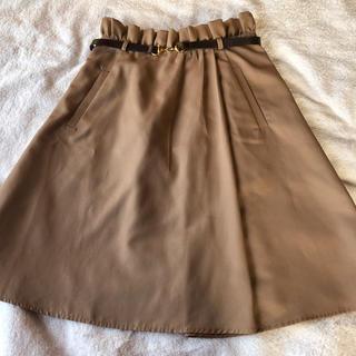 ジャスグリッティー(JUSGLITTY)のジャスグリッティー  ベルト付きスカート(ひざ丈スカート)