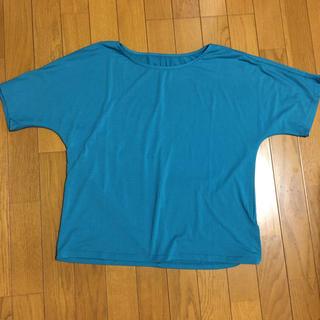 anywise YAGI エニワイズ 半袖ゆったりトップスタグ付き未使用品(カットソー(半袖/袖なし))