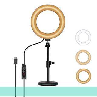 リングライト USB給電式 LEDライト(その他)