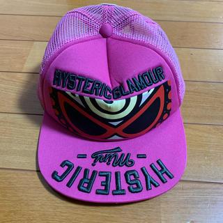 ヒステリックミニ(HYSTERIC MINI)のHYSTERIC MIMI  キッズ キャップ ピンク 54cm(帽子)