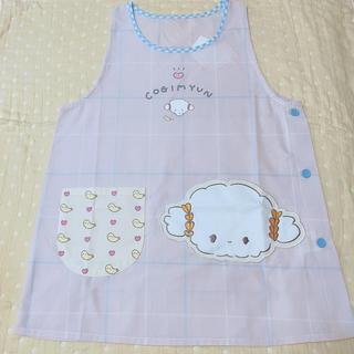 サンリオ(サンリオ)のこぎみゅん エプロン 薄ピンク 保育士(収納/キッチン雑貨)