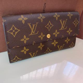 ルイヴィトン(LOUIS VUITTON)の正規品ルイヴィトン長財布(財布)