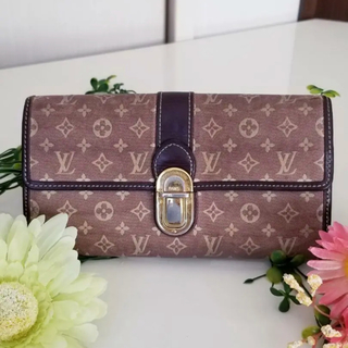 LOUIS VUITTON - 正規品 ルイヴィトン イディール 長財布