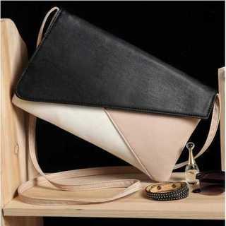ショルダー ミニ バッグ 鞄 ベージュ 白 黒 PUレザー パーティ おしゃれ(ショルダーバッグ)