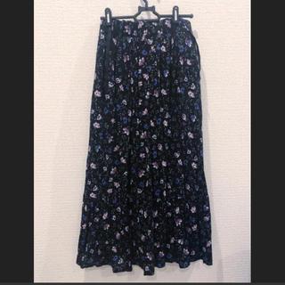 レプシィム(LEPSIM)の花柄 ロングスカート(ロングスカート)