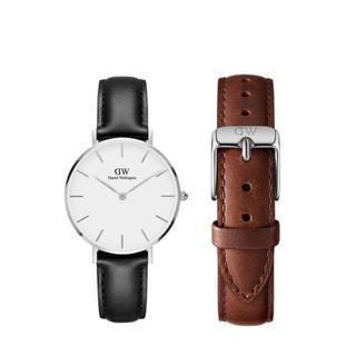 ダニエルウェリントン(Daniel Wellington)の【32㎜】ダニエルウェリントン腕時計DW186+ベルトSET〈3年保証付〉(腕時計)