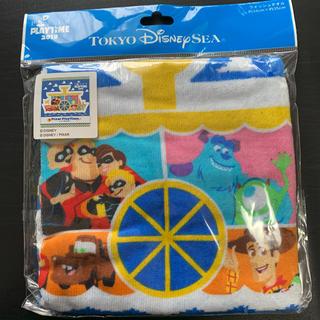 ディズニー(Disney)のディズニー ウォッシュタオル ピクサー ディズニーシー 34cm×35cm(タオル)
