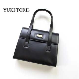 ユキトリイインターナショナル(YUKI TORII INTERNATIONAL)のユキトリイ★フォーマル ハンドバッグ パーティー 黒 ブラック ゴールド金具(ハンドバッグ)