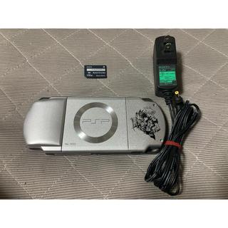 プレイステーションポータブル(PlayStation Portable)のPSP-2000 クライシスコア 送料無料 ③(携帯用ゲーム機本体)